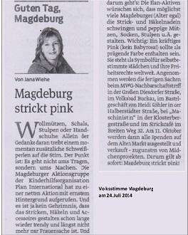 Volksstimme Magdeburg 24.07.14N