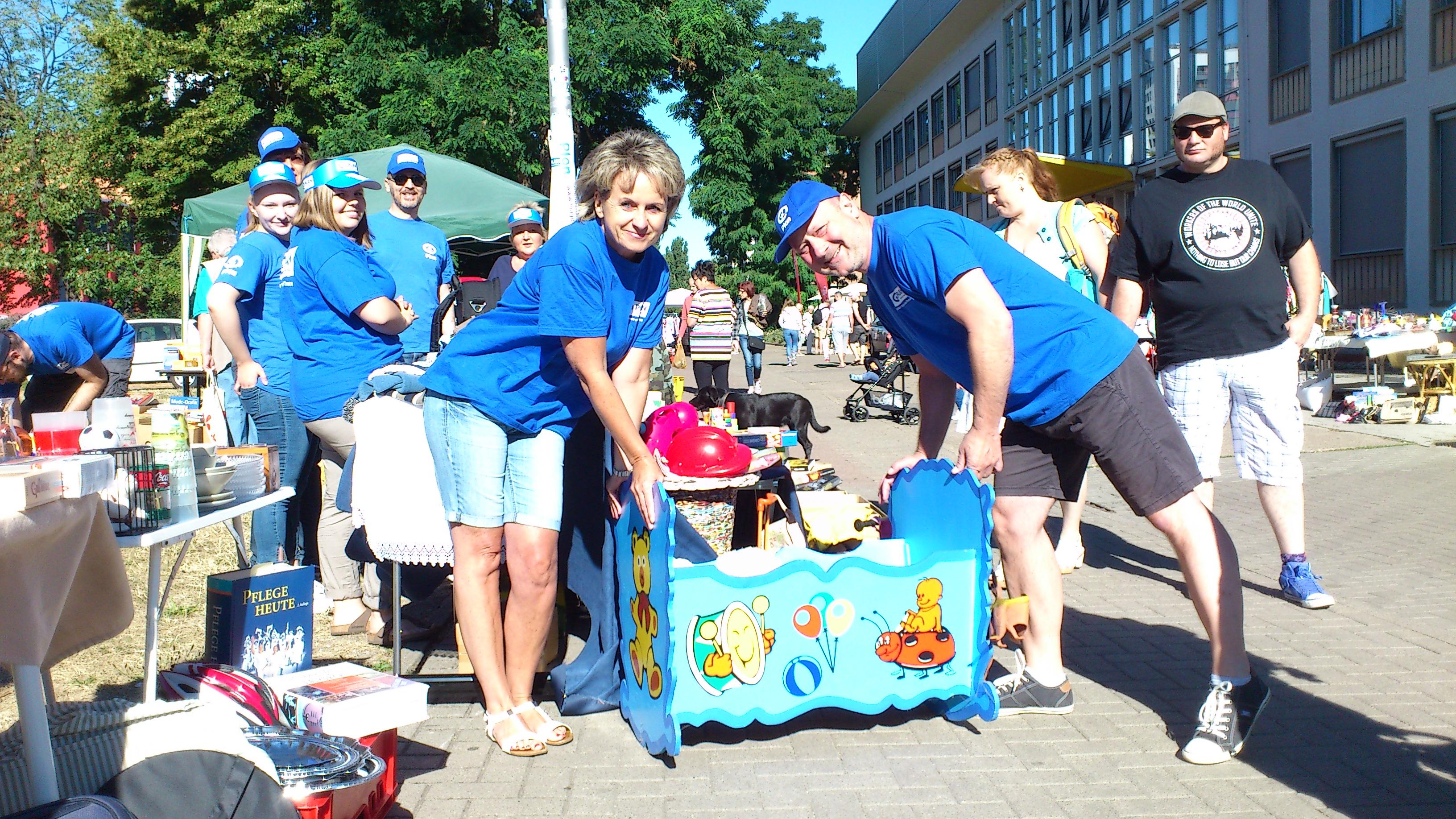 Flohmarkt am 7. Juli
