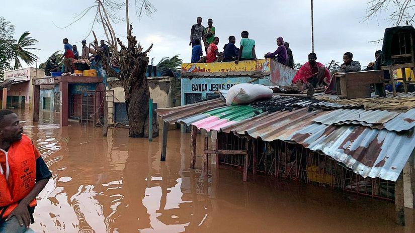 Zyklon Idai hinterlässt Spur der Verwüstung